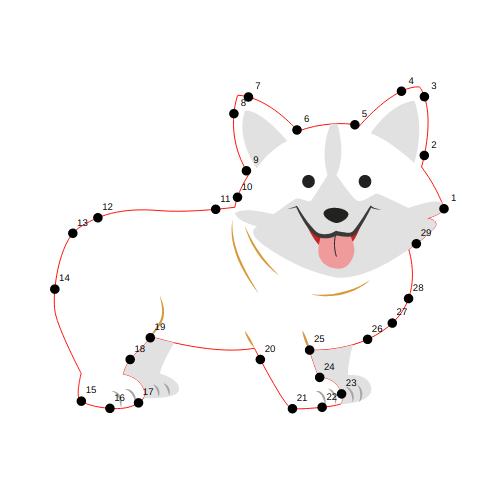 Connect the dots image
